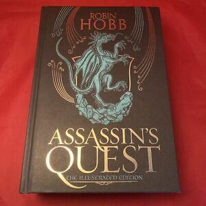 Assassin's Quest - Robin Hobb - Illustrated Signed 1st Ed Hardback HB - NEW