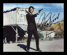 CLINT EASTWOOD AUTOGRAPHED SIGNED & FRAMED PP POSTER PHOTO