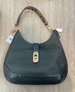 COACH leather Amber hobo crossbody handbag/shoulder bag