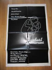 STARDUST MEMORIES Woody Allen Charlotte Ramplin original poster 1980