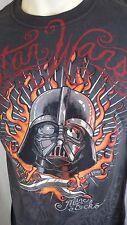 Darth Vader Star Wars Tshirt by Marc Ecko Size Medium New with Tags Pirate Grey