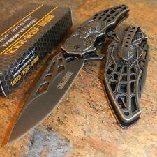 Couteau Tac Force A/O Spider Arachnide Lame Acier Carbone Manche Acier TF856SW