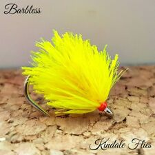Competition Barbless Sweetcorn Blobs Size 10 wide Gape (Set of 3) Fly Fishing