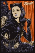 Catwoman (Ken Taylor) SOLD OUT Ltd Ed Mondo AP Print #1 of only 17!! Batman
