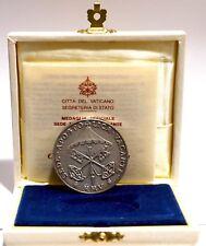 Vaticano Sede Vacante 2005 Medaglia emessa Cardinale Camerlengo ARGENTO GARANZIA