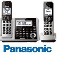 Panasonic KX-TGF372S Link2Cell Bluetooth 2 Cordless Phones w/ Answering Machine