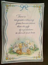 New Baby Boy Grandson Birth Announcements - Hallmark - w Envelopes (16)