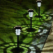 8 Pack Solar Pathway Lights Outdoor Solar Powered Garden Lights, Waterproof Led