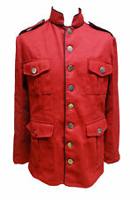 SDL Mens military style heavy cotton jacket size M
