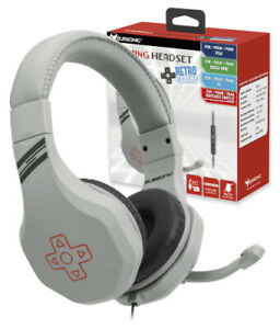 Subsonic Retro Game & Chat Headset For Playstation 4 PS4 / Xbox One, PC & Switch