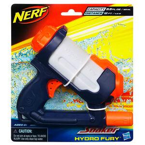 Brand New NERF Super Soaker HYDRO FURY Blaster ~ Mini Water Pistol