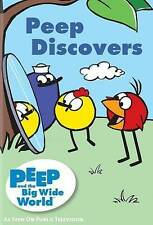 PEEP AND THE BIG WIDE WORLD PEEP DISCOVERS KIDS ANIMATED LEARNING NEW DVD