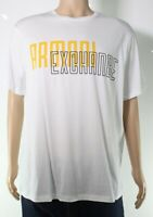 Armani Exchange Mens T-Shirt Classic White Size XL Graphic Logo Tee $50- 287