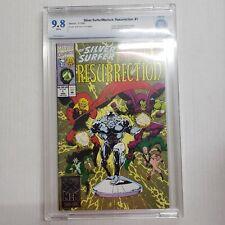 Silver Surfer / Warlock: Resurrection #1 CBCS 9.8 NOT CGC Marvel Comics WP