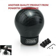 Universel Fibre De Carbone Ball bâton manual transmission Shift Shifter Gear Knob