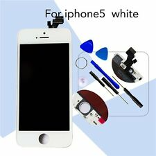 White LCD LENS Touch Screen Digitizer Assembly For iPhone 5 Fast Dispatch New UK