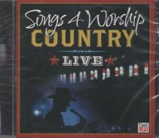 Songs 4 Worship: Country Live ~ Various Artists ~ Christian ~ Gospel ~ CD ~ New