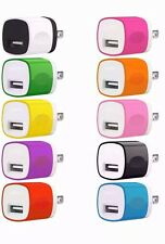 10x 1A USB Power Adapter AC Home Wall Charger US Plug FOR iPhone 5 5S 6 7