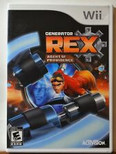 Nintendo WII Generator Rex Agent of Providence Kids Teen Family Complete CLEAN