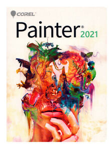 Corel Painter 2021 Full Commercial Version - New Retail Box