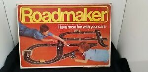 Rare Vintage Boxed Roadmaker Set 1/60 Scale Model Road 1970's By Idea car layout