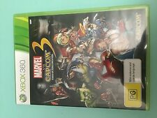 Marvel vs Capcom 3 Fate of Two Worlds - XBOX 360 - Game - VGC Complete