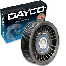 Dayco 89130 Drive Belt Idler Pulley - Tensioner Clutch Accessory yk