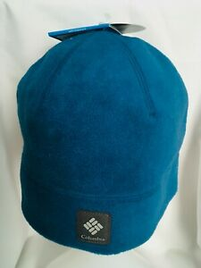 NEW Columbia Agent Heat Beanie Hat BLUE