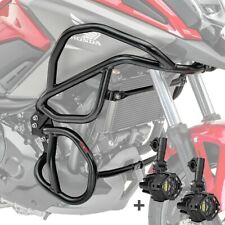 Set Sturzbügel + Scheinwerfer für Honda NC 750 X / 700 X 12-20 schwarz