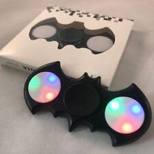 Black LED Batman Fidget Hand Spinner Stress Reduce Finger Game Desk Toy GIFT