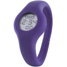 Breo Spin B-TI-SPN2M Medium (17cm) Purple Unisex Digital Watch Silicone Strap