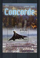 Maldives 2004 MNH Concorde Final Flight G-BOAG 1v S/S New York JFK Stamps
