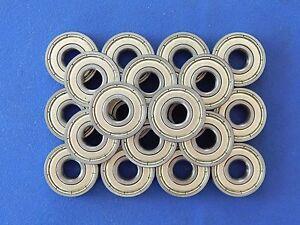 20 Stück 608 ZZ  Kugellager 8 x 22 x 7 mm