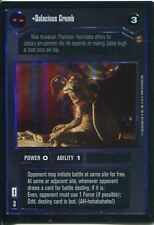 Star Wars CCG Reflections I Foil Card Salacious Crumb