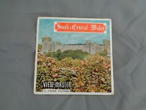 SAWYERS VIEWMASTER PACKET REF C335 SOUTH & CENTRAL WALES