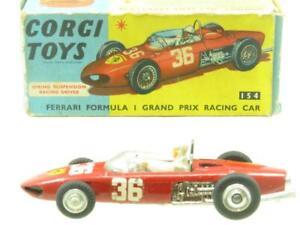 Corgi Toys 154 Ferrari Formule 1 Grand Prix Course Voiture Original Emballé