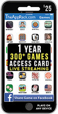 Gift Card - 1 YEAR ACCESS 300+ Mobile Games - Play Games Live Streaming