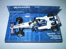 Minichamps F1 1/43 Williams BMW FW22 RALF SCHUMACHER Showcar 2001