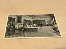 Vintage (1940s/50s) Postcard The Library, Hawtreys School