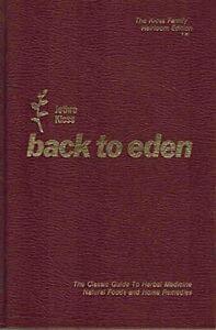 Back to Eden by Jethro Kloss (Hardcover)