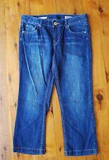 JAG Blue Mid Rise Reg Fit Crop Stretch Jeans Size 12 NWOT