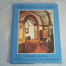 DOOR COUNTY WISCONSIN - Faith Builds A Chapel, Boynton - 1984 HC/DJ Norwegian