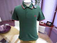 "Fred Perry M12 Men's NEW Small Classic Twin Tipped Polo T Shirt  - 38"" Chest"