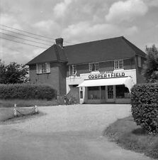 B/W 6x6 Negative Oakley Hampshire Cooper & Field Post Office + Copyright rdb135