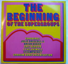 V.A.- The beginning of the supergroups- LP > Yardbirds, Eric Burdon, Brian Auger