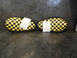 Flite style elbow pad set bmx race freestyle vintage old school