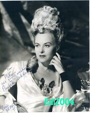 PAULETTE GODDARD Vintage Original Autograph 1944 Photo & Signed Letter & CARD