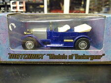 Matchbox Models of Yesteryear Prince Henry Vauxhall 1914 Y-2 zilver / paars