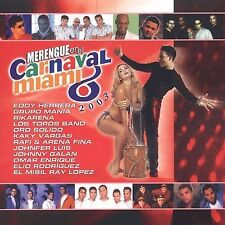 Various Artists : Merengue En El Carnaval Miami 2003 CD