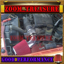 BLACK RED 1998-2004 ISUZU RODEO/TROOPER/PASSPORT/SLX 3.2/3.5L V6 AIR INTAKE KIT